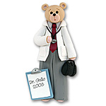 Belly Bear Doctor<br>Personalized Ornament