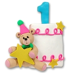 1st Year Birthday Cake<br>Personalized Ornament