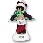 Black Bear w/1 Stocking