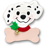 Dalmatian w/out Firehat<br>Personalized Dog Ornament