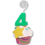 4th Year Cupcake<br>Photo/Place Card Holder