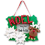Reindeer<br>Personalized Ornament<br>Picture Frame