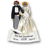 Bride &amp; Groom<br>Personalized Ornament<br>SALE! 70% Off