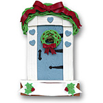 Small Country Door<br>Personalized Home Ornament