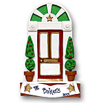 Large Classic Door<br>Personalized Home Ornament