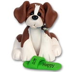 &quot;Happy&quot; Beagle<br>Dog Ornament