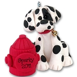 &quot;Sparky&quot; Dalmatian<br>Dog Ornament