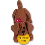 &quot;Gunther&quot; Daschund<br>Dog Ornament