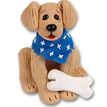 &quot;Toby&quot; Golden/Lab Retriever<br>Dog Ornament