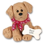 """Gucci"" The Golden Retriever Puppy Pal Ornament Limited Edition"