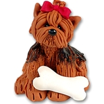 &quot;Nugget&quot; The Yorkie<br>Dog Ornament