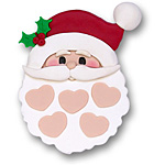 Santa Face w/5 Hearts on SALE!
