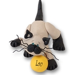&quot;Leo&quot; Siamese Kitty<br>Cat Personalized Ornament