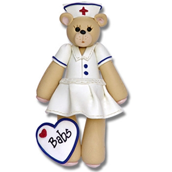 Belly Bear Nurse Personalized Ornament ON SALE!