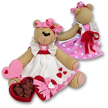 Belly Bear Sweetheart Girl Figurine - Limited Edition
