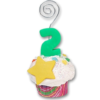 2nd Year Cupcake<br>Photo Holder/Place Card