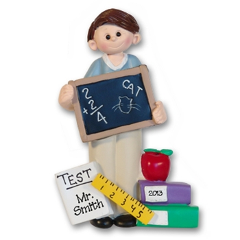 RESIN<br>Giggle Gang Teacher-Male<br>Personalized Teacher's Gift