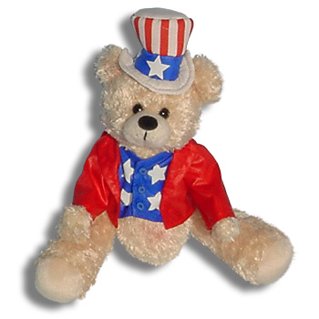 Belly Bear Buddy<br>Patriotic Bear