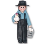 Amish Boy Ornament