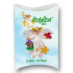 Angelina Angel with Blonde Hair Personalized Christmas Ornament in Custom Gift Box