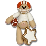 Orange Football Belly Bear on SALE!