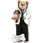 Belly Bear Veterinarian<br>Personalized Ornament