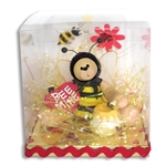 Belly Bear Bee Personalized Valentine Ornament in Gift Box