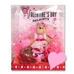 Belly Bear Sweetheart Girl Valentine Figurine in Gift Box