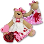 Belly Bear Sweetheart Girl Valentine Figurine - Limited Edition