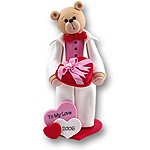 Belly Bear Sweetheart<br>Boy Figurine