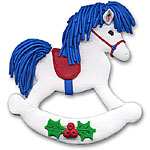 Rocking Horse<br>Personalized Ornament