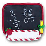 Blackboard<br>Personalized<br>Teacher's Ornament