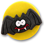 Halloween Bat<br>Personalized <br>Halloween Ornament