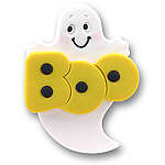 Boo Ghost<br>Personalized Ornament
