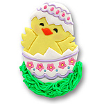 Baby Chick in Egg Personalized Easter Ornament
