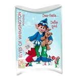 Z- NEW Whazzup Personalized Elf Ornament in Custom Gift Box