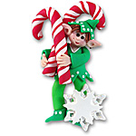 Wheez<br>Personalized Elf Ornament