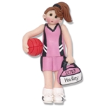 Basketball Player-Female Personalized Ornament - Limited Edition