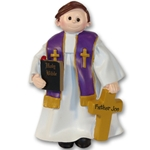 RESIN<br>Giggle Gang Priest<br>Personalized Christmas Gift