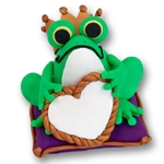 Frog Prince<br>Personalized Ornament