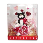 Valentine Kitty Couple Cat Figurine in Gift Box