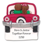 Couple Parking Personalized Couples Ornament - Limited Edition
