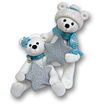 Polar Bear Couple<br>Personalized Ornament
