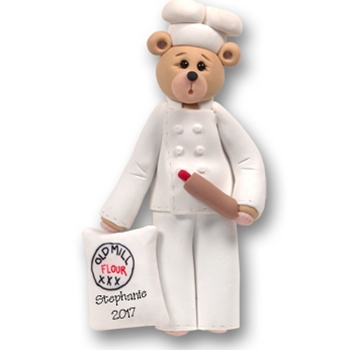 Belly Bear Chef<br>Personalized Ornament-Limited Edition