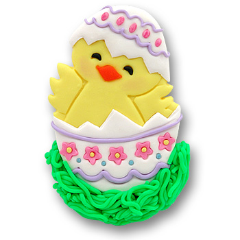 Baby Chick in Egg<br>Personalized Easter Ornament